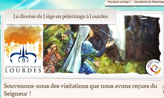 Blog du pélé diocésain à Lourdes