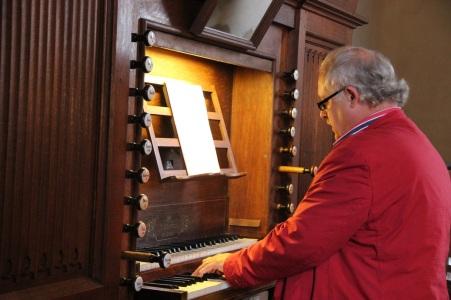 Pierre Bodson aux grandes orgues