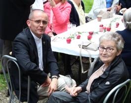 Jean-Pierre Leroy et sa Maman