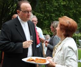 M. l'abbé Ista et Angela Ciancaleoni