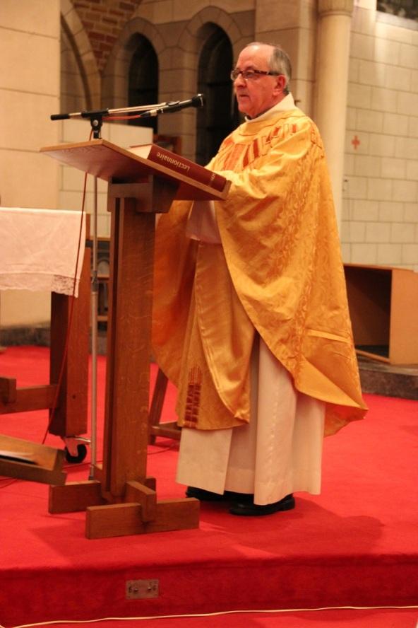 ... que clôture l'abbé Villers avec des mots de saint Matthieu