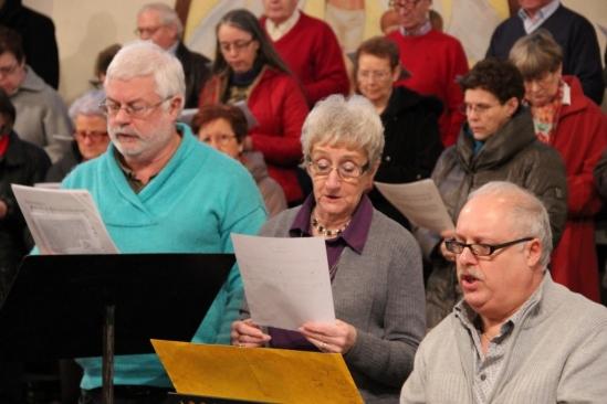 Michel, Anny et Pierre chantent le psaume