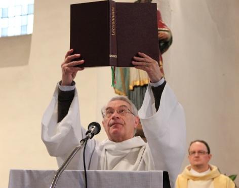 Acclamation à l'évangile