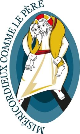 Logo de l'Année Sainte de la Miséricorde