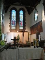 Le chœur de l'église