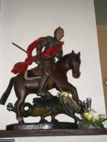 La statue de Saint-Georges