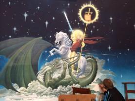 St-Georges - fresque finie