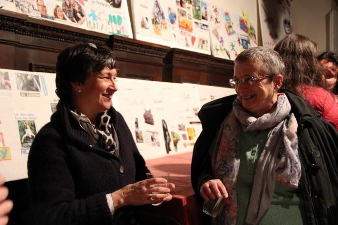 Martine et Elisabeth
