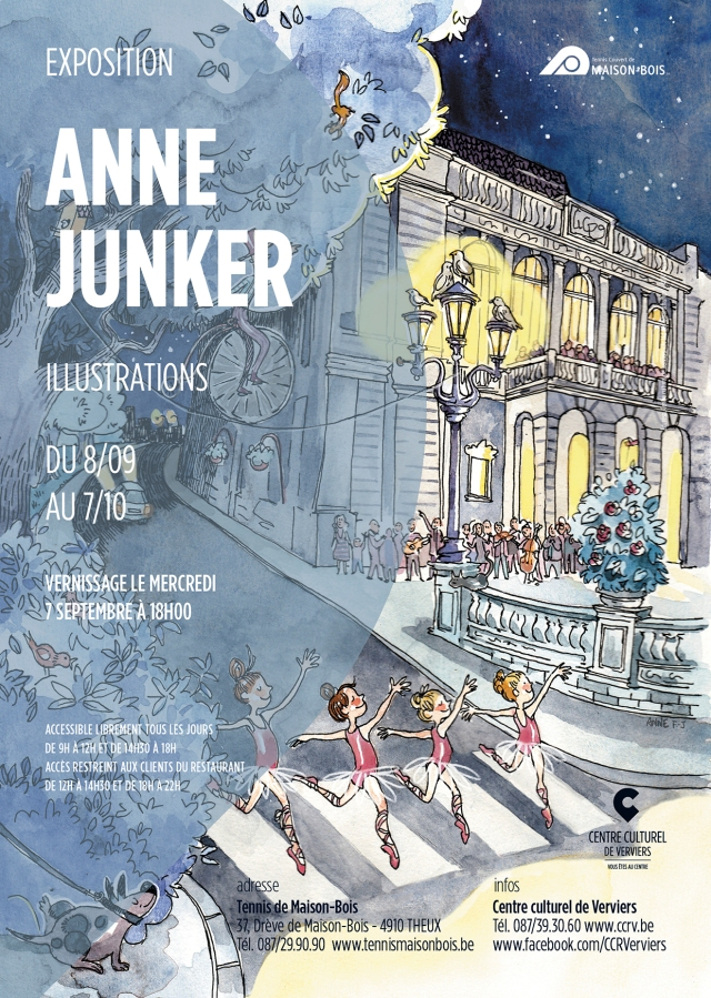 Affiche expo Anne Junker