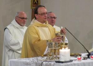 abbés Henri Bastin, Jean-Marc Ista et Marcel Villers