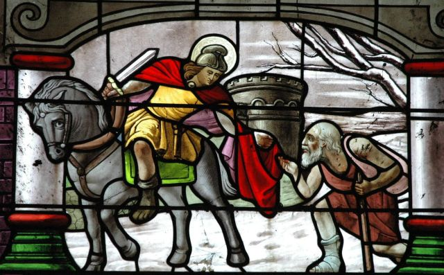 saint martin vitrail