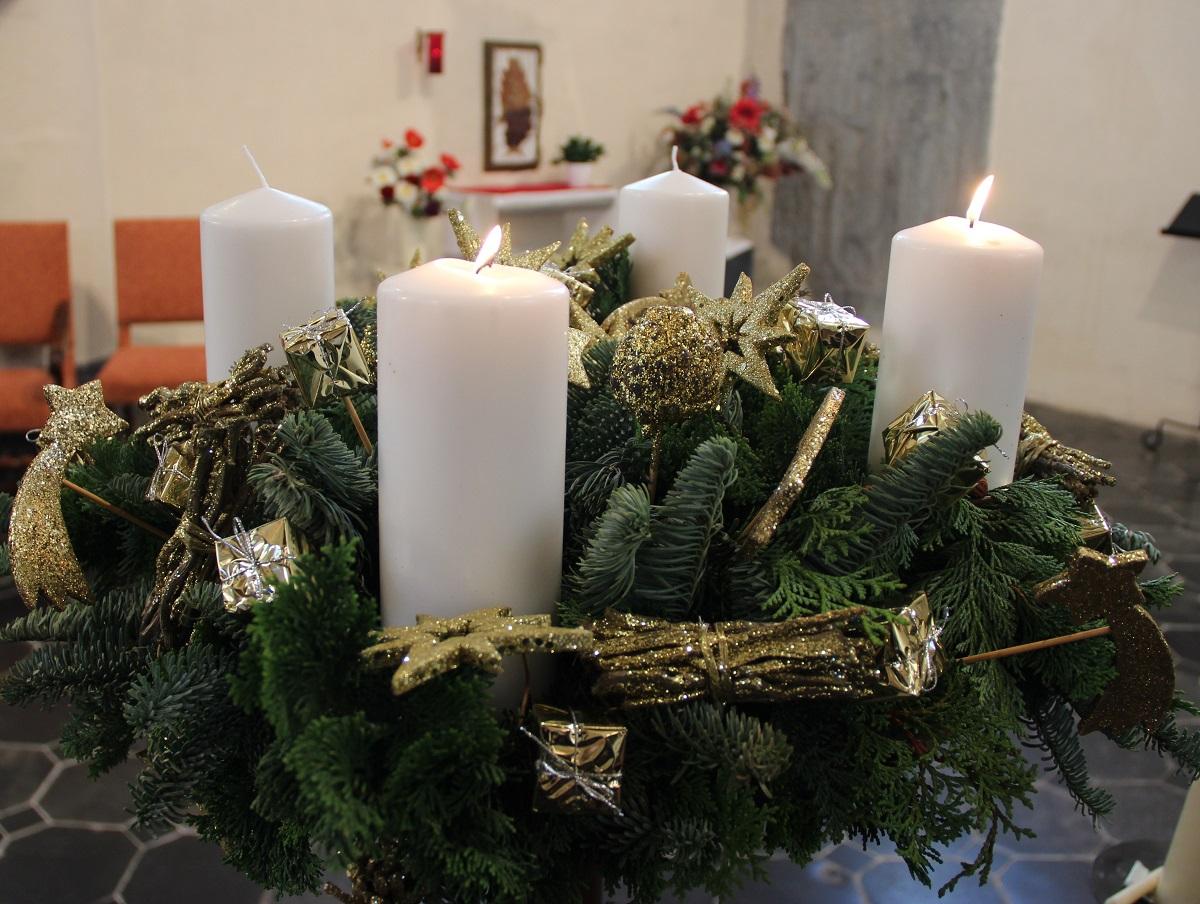 avent : couronne et bénédiction solennelle | unité pastorale de