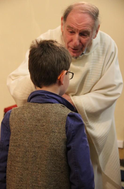 2016 - Veillée de Noël - Becco - Bénédiction des enfants