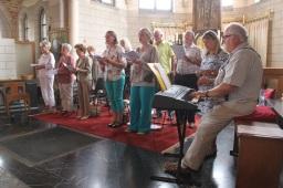 La chorale soutenue par Pierre Bodson