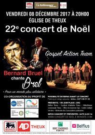 Concert 2017 à Theux le 8 décembre