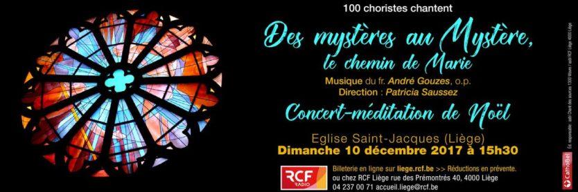 Concert 2017 à Liège : Des mystères au Mystère