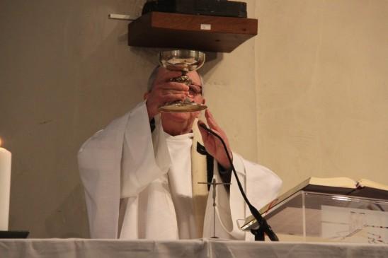 2017-12-25 - Messe du jour de Noël - Theux - Consécration du Vin