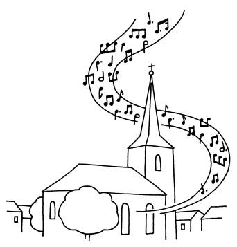 Une église qui chante !