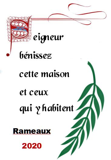 Rameaux digitaux 2020 - Abbaye de Termonde (BE)