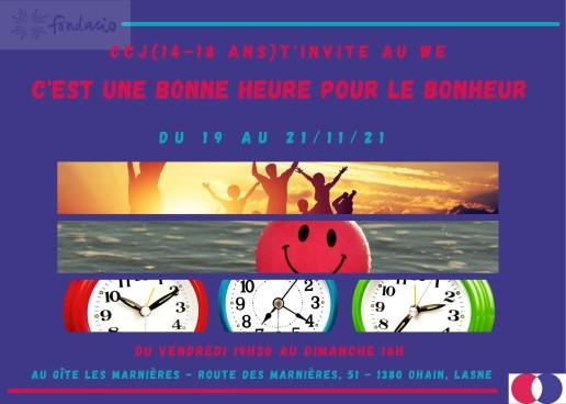 2021-11-19à21 - WE C'est une bonne heure pour le bonheur - Fondacio (1)
